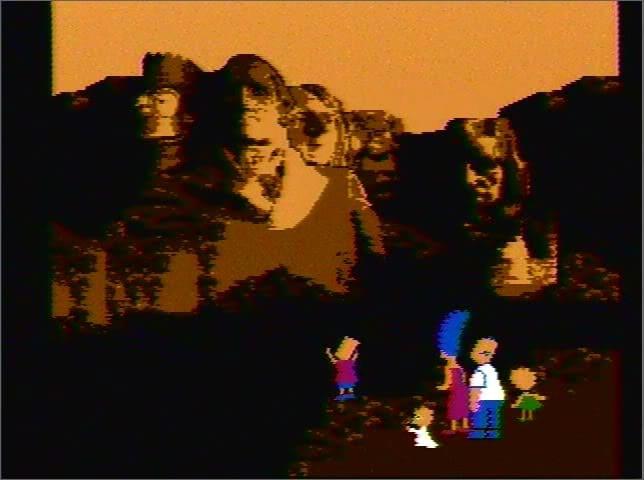 SimpsonsBartvsTheSpaceMutants-Ending